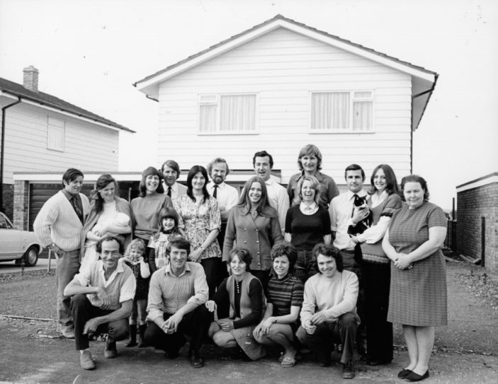 The Hillyfields Self-Build Group c1971 | Herts Library Service