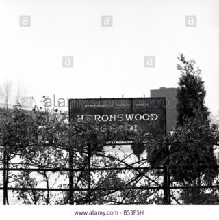 Sign on Heronswood Road   -   1964