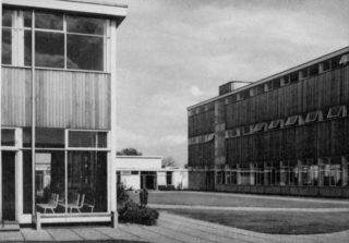 Taken from the front gate of the school   -  1961.