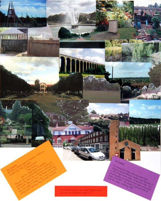 Collage created by Year 4 pupils