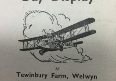Alan Cobham Flying Circus at Welwyn Garden City