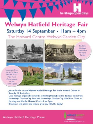 Welwyn Hatfield Heritage Fair 2013