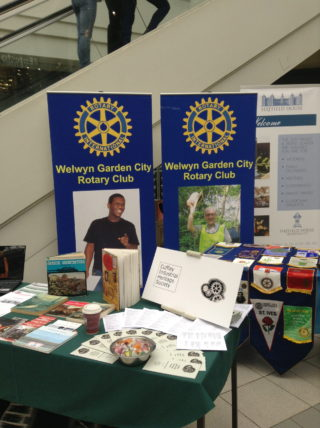 Welwyn Garden City Rotary and Cuffley Industrial Heritage Society | Robert Gill