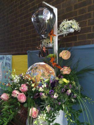 1990s Hot Air Balloons, Claire Meola, St Francis Church - Flower Team | Robert Gill