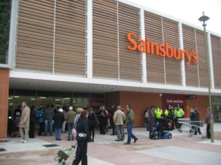 The new store on opening day, 16th November 2011 | Robert Gill