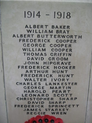 Those who gave their lives in WW1 | Robert Gill
