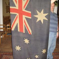 Australian flag presented to St John's Church by Gen. Sir W Birdwood | Robert Gill