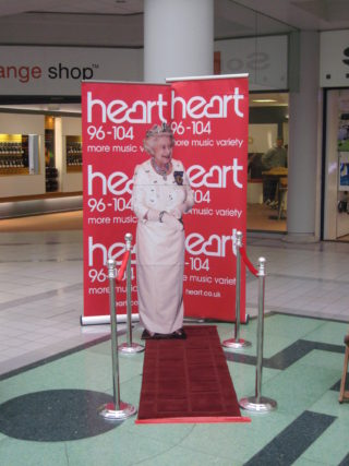 Have your photo taken with the Queen in the Howard Center | Robert Gill
