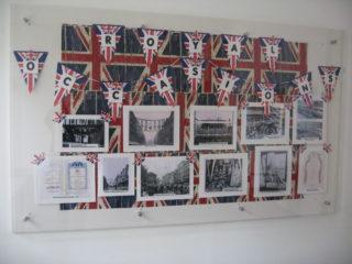 John Lewis display in the entrance | Robert Gill