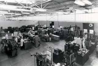 Injection Moulding Shop ICI Plastics | Campus West Library - Welwyn Garden City