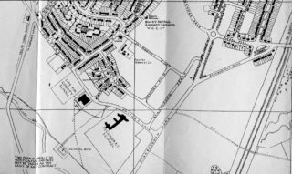 Street Map of Welwyn Garden City 1947, Showing Springfields, Marsden Road and Heather Road | Hertfordshire Archives and Local Studies