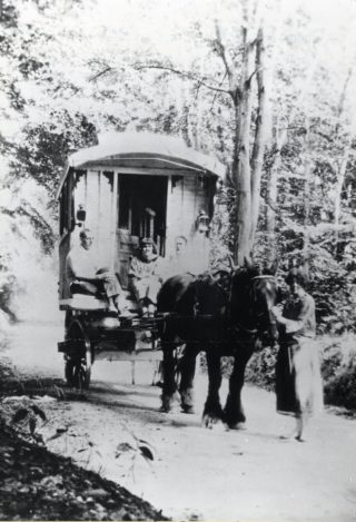 Molly Jennings, en route to WGC at Hatfield 1920 | Hertfordshire Archives and Local Studies