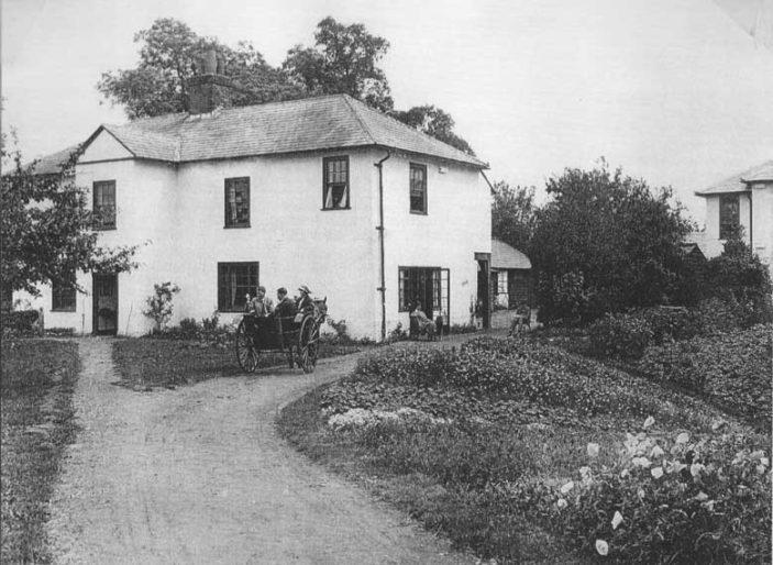 New Town Hostel originally Lower Handside Farmhouse   Welwyn Garden City Library