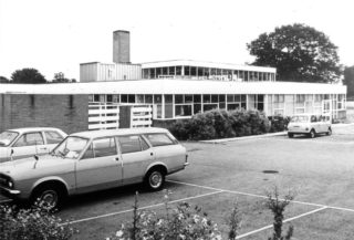School from the car park | Hertfordshire Archives and Local studies