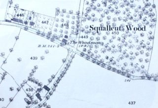Detail of Ordnance Survey Map of 1880 | Hertfordshire Archives and Local Studies