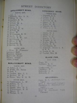 Trade Directory, 1941 | [HALS]