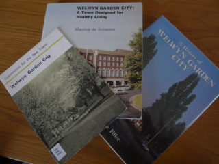 Many books and guides have been written about Welwyn Garden City | [S Flood]