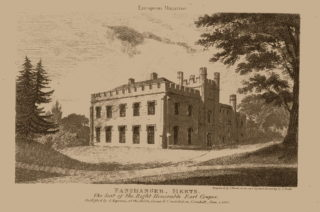 Panshanger House, since demolished by fire, and home of the Desborough family in Hertfordshire | Hertfordshire Archives and Local Studies