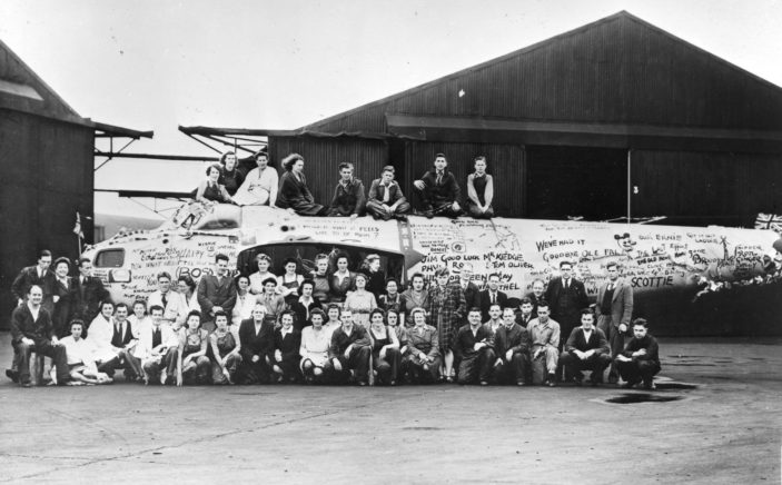 Panshanger Airfield   Hertfordshire Archives and Local Studies