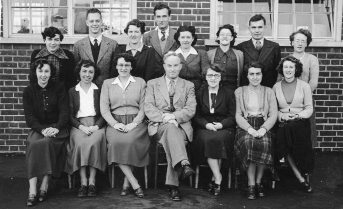 Parkway Staff 1950