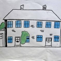 Drawing by Callum A | Handside School Consortium Project