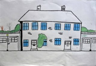 Handside house | Drawing by Callum A