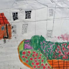 Drawing by Naomi | Handside School Consortium Project