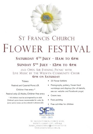 Event Poster | St Francis Church