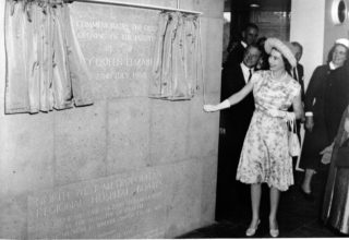 The Queen opens the QE II hospital in 1963 | WGC Library