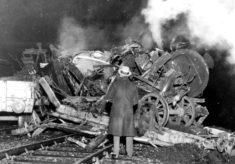 Shocking train smash at Welwyn Garden City