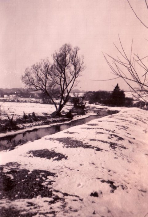 The River Lea in Winter c.1946 | Gordon S.