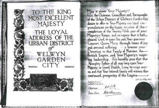 Appendix H Royal Address calligraphy