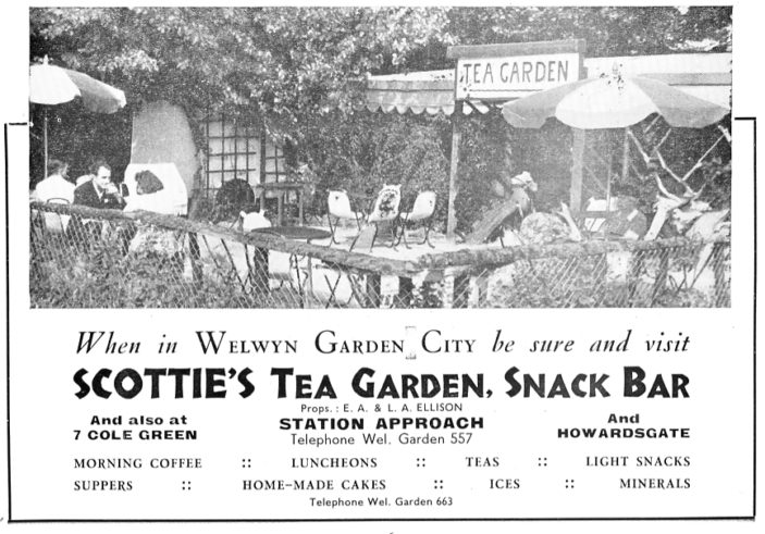 Scotties Tea Garden