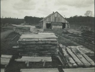 Saw Mill in Sherrardswood 1919 | Campus West Library