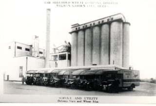 Shredded Wheat Factory c1926 | Welwyn Garden City Library