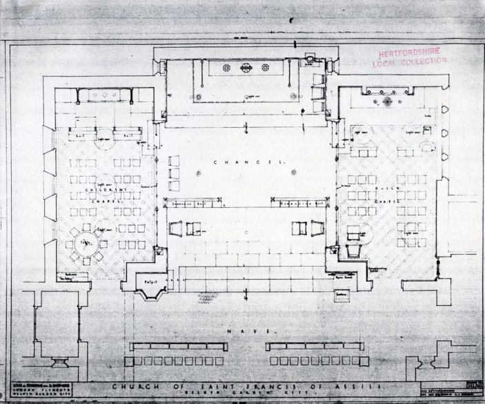 Floor plan | Hertfordshire Archives and Local Studies (pamphlet file)