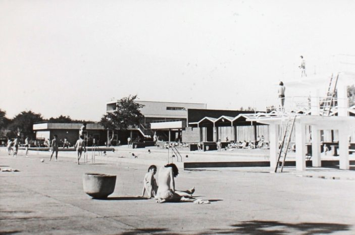 Swimming Pool complex c1960s | Hertfordshire Archives and Local Studies