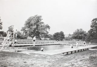 Swimming Pool c1933 | Hertfordshire Archives and Local Studies