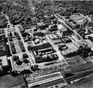 Parkway, Howardsgate, Stonehills, Welwyn Department Stores, The Campus with the Train Station - 1962