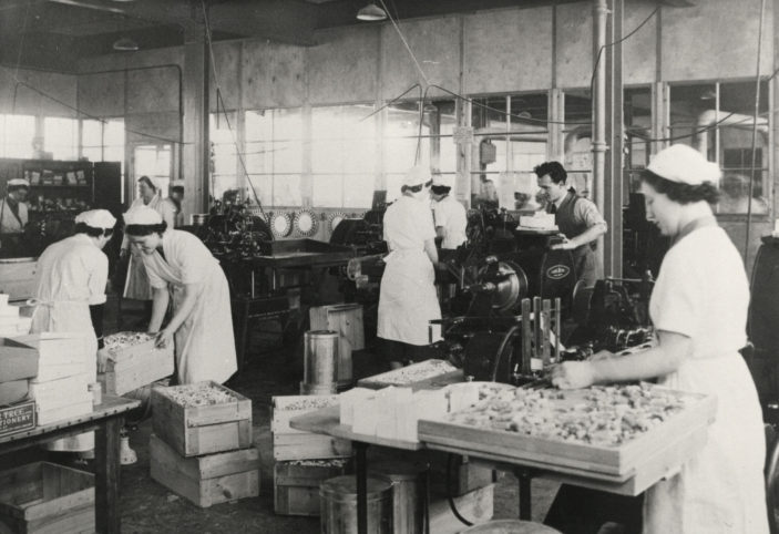 The Garden City Candy Company in  1938 | Welwyn Garden City Library