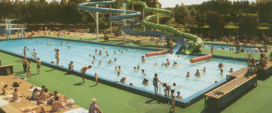 Swimming Pool just before it closed in 1999