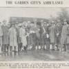 Welwyn Garden City's first ambulance