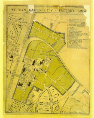 Welwyn Garden City Factory Area - 1929 | Welwyn Garden City Library