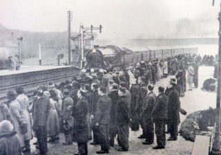 King George V funeral train passing through Welwyn Garden City | Daily Telegraph and Welwyn News