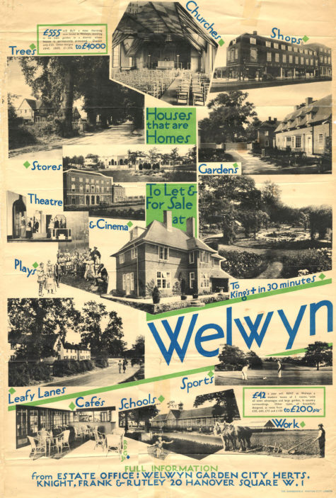 Early life in Welwyn Garden City | Welwyn Garden City Library