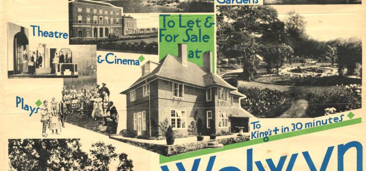 Early life in Welwyn Garden City