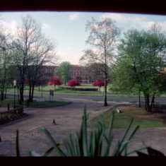 This view was taken from my office in the old De Havilland College, (now Oaklands College) and looks across Campus West to the John Lewis store.