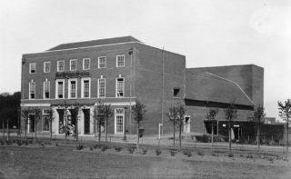 Welwyn Garden City Theatre when completed   Welwyn Builders