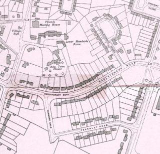 Ordnance Survey Map XXVIII.11 & 15 1938 | Hertfordshire Archives and Local Studies