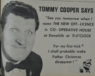 Advertisement for Tommy's visit | Welwyn Times and Hatfield Herald, 11 November 1966, page 3
